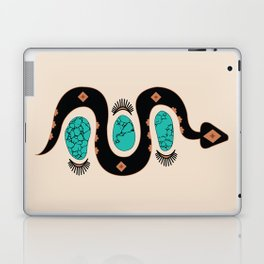 Southwestern Slither in Black Laptop & iPad Skin