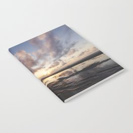 Sunrise Over the Beach 2 Notebook