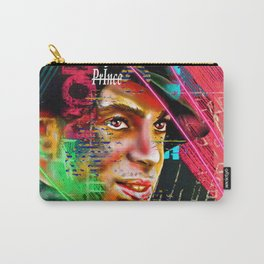 Prince Profile Painted Carry-All Pouch