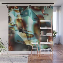 Prism Flames 1 Wall Mural
