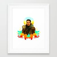 mad max Framed Art Prints featuring Mad Max by chazstity
