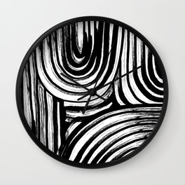 Lines No. 2 Wall Clock