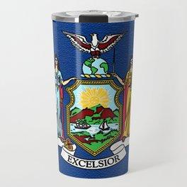 Fancy Flag:  New York Travel Mug