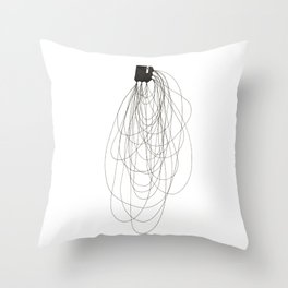 Natural being N.11 Throw Pillow