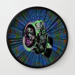 respirator dreams Wall Clock