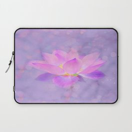 Lotus Emerging from the Water Laptop Sleeve