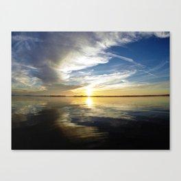 California Sunset - Encinitas, CA Canvas Print