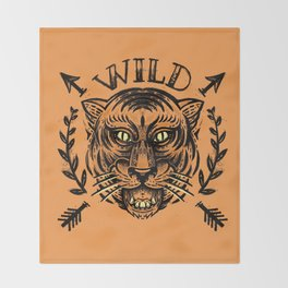 Wild Throw Blanket