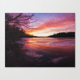 Intense Palette Canvas Print