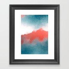 clouds III Framed Art Print