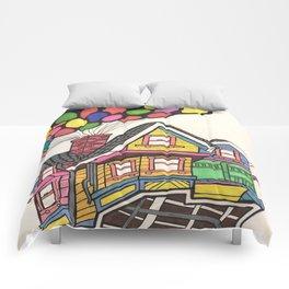 Up,Up & Away  Comforters