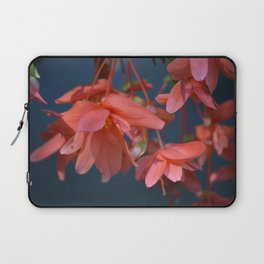 Trailing Red Begonia Laptop Sleeve