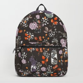 Sepia Bouquets Backpack