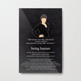 Being Human - Alex Millar Metal Print