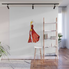 The Incarnation of International Women's Day Wall Mural