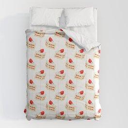 Strawberry Short Cake Comforters