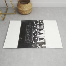 Witches Tea Party Rug