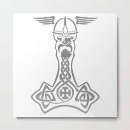 Thorshammer Metal Print