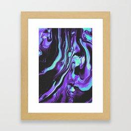 BLACK & BLUE DEVOTION Gerahmter Kunstdruck