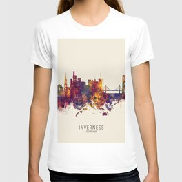 Inverness Scotland Skyline T-shirt