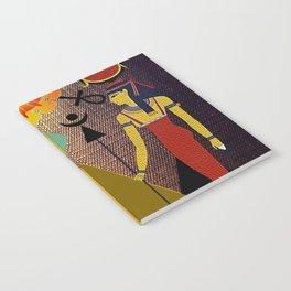 Hathor under the eyes of Ra -Egyptian Gods and Goddesses Notebook