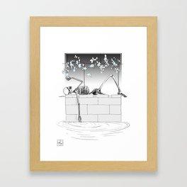 Soft Macabre Framed Art Print