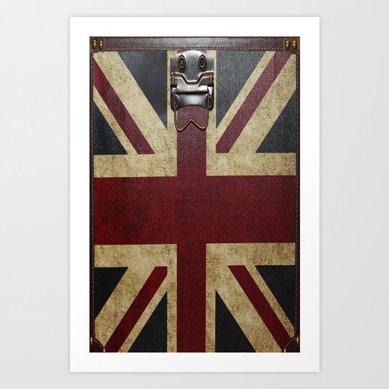 England Reisen Art Print