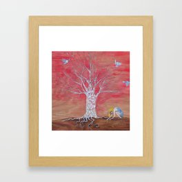 And then the uplifting. Framed Art Print