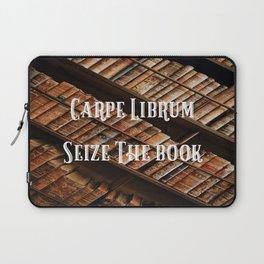Carpe Librum Seize the Book Laptop Sleeve