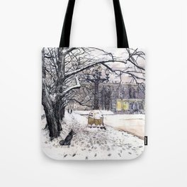 Moscow. Russia. Patriarshie pounds. Tote Bag