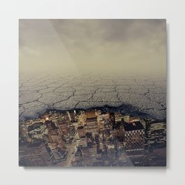 city underground Metal Print