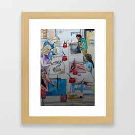 Art Room 1 Framed Art Print