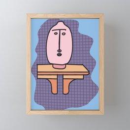 Vase Shelf Framed Mini Art Print