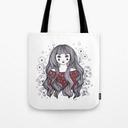 Blossom Girl Tote Bag