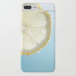 Bubbly Lemon iPhone Case