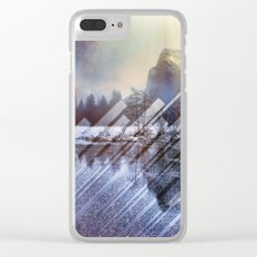 Winter Sun Rays Abstract Nature Clear iPhone Case