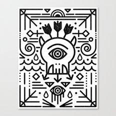 Monster Killer Cult Canvas Print