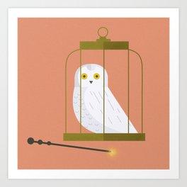 Hedwig - 8x8 Art Print
