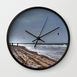 The beach Wall Clock