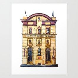 Sydney classic #4: The Rawson Institute Art Print