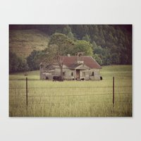 tennessee Canvas Prints featuring Tennessee by Hilary Walker