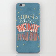 Infinite Possibilities iPhone & iPod Skin