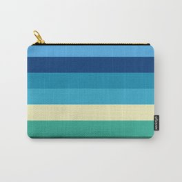 Abstract #409 Beach Colors Carry-All Pouch