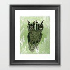 Owls Framed Art Print