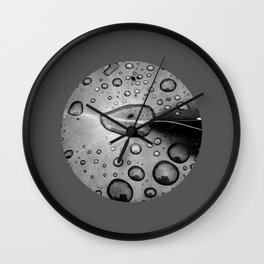 water drops XI Wall Clock
