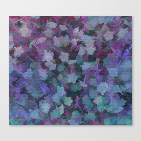 Colorful Flower Music Canvas Print