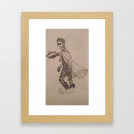 Jared Leto. Framed Art Print