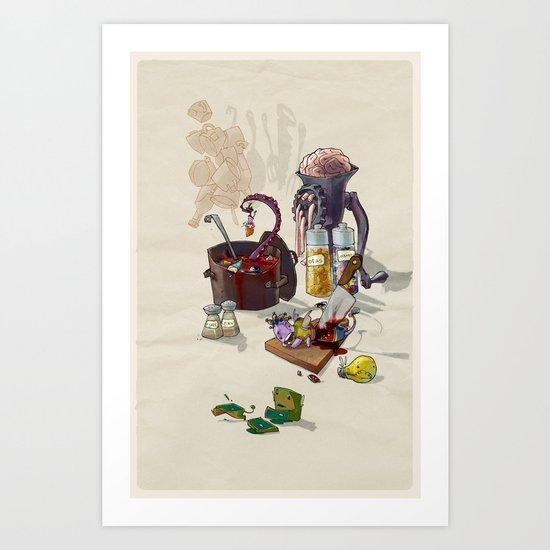 W.I.P. Art Print