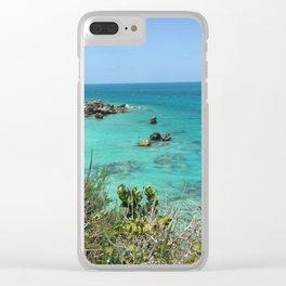 Bermuda Sands Clear iPhone Case