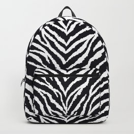 Zebra fur texture Backpack